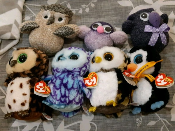 Beanie Baby ty Owl collection