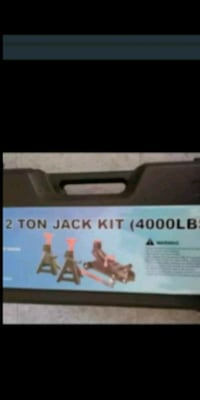 2 ton floor jack and Jack stand s new $50.00