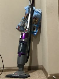 gray and purple upright vacuum cleaner Houston, 77082