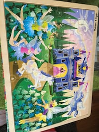 Melissa and Doug Unicorn with fairies puzzle Grimsby, L3M 3H5