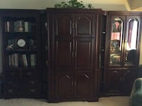 Wall unit in 5 separate pieces - can use together or individually South Brunswick, 08810
