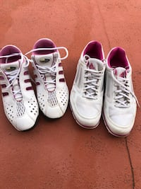 Adidas women's golf shoes. Priced for one pair (sizes 7 1/2 and 8 1/2) Merritt Island, 32952