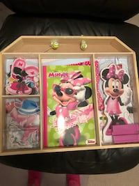 Minnie Mouse Wooden Doll Dress Up and Book Moncks Corner, 29461