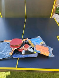 Table tennis t ping - pong table with accessories