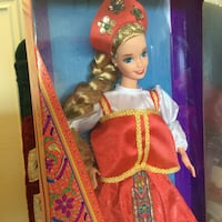 Russian Barbie Doll  in box / International doll collectable Alexandria, 22311