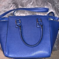 women's blue leather 2-way bag Knoxville, 37922