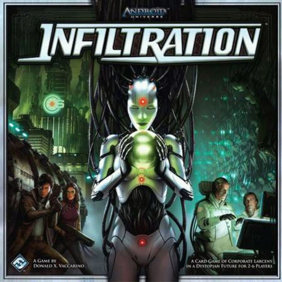 Infiltration game board