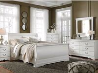 Brand New 4 Piece Anarasia White Bedroom Set☆39$ Down Payment Odenton, 21113