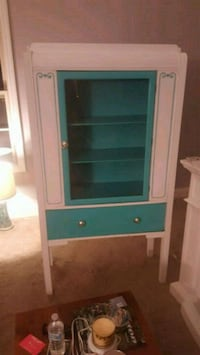 green and white wooden cabinet West Columbia, 29170