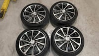 "18"" tempest turbine rims Pickering, L1W"