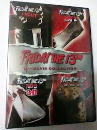 Friday the 13th parts 1-4 dvd