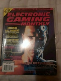 1991Retro electronic gaming monthly Indianapolis, 46222