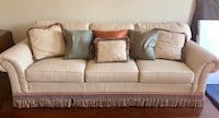 beige fabric 3-seat sofa Florence, 29501