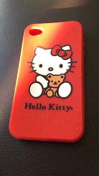 red Hello Kitty iPhone case