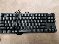 Aukey keyboard, works great, backlight  Chantilly