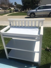 Graco wood changing table
