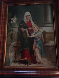 Saint Anne and Young Virgin Mary Picture Oklahoma City, 73109