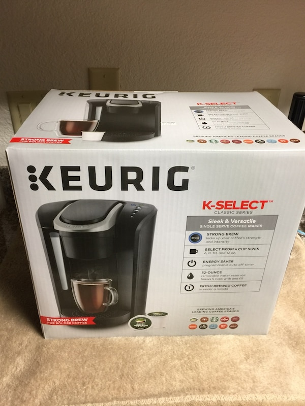 Keurig K- Select single serve coffee maker Brand New In The Box Great Price