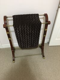 Black and brown wooden chair Bradford West Gwillimbury, L3Z 0C6