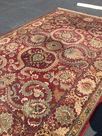 Red wool Persian type area rug Red Bank, 07701