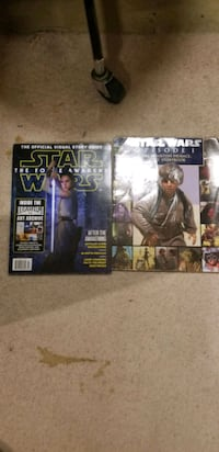 Star Wars Collectible Books Set of 2