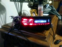 black and red car stereo head unit Salem, 97302