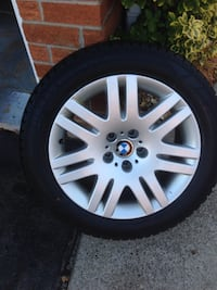 Winter tires with rims for BWM series 5,6,7-sedan upto 2014 Mississauga, L5N 4X7