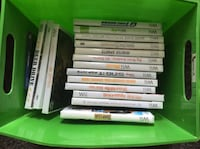 17 EUC and unopened Wii games  Oakville