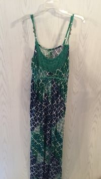 "Womans, ""Nine West"" blue and green dress Tuscaloosa, 35405"