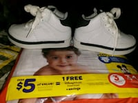White Tommy Hilfiger toddler high top sneakers Roanoke, 24016