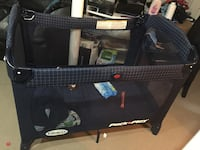 blue Graco pack and play Brampton, L6R 1V4