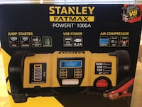 STANLEY FAT MAX JUMP STARTER WITH COMPRESSOR Maple Shade, 08052