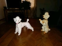 two white and brown ceramic figurines Renton, 98055