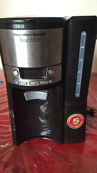 Hamilton beach black and stainless steel brew station Surrey, V3S 6T2