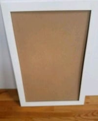 """White Frame 32-1/2"""" x 21-1/2"""" New, PRICE IS FIRM. Palatine, 60074"""