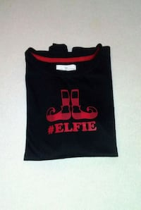 "Girl's ""#Elfie"" long-sleeved EUC soft tee Columbus, 43232"