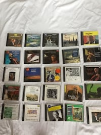 CD's from an estate collection.  I have boxes more.  Must take at least 25 for $50.00 Hagerstown, 21742