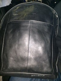Coach leather backpack reg price 499.99  Vancouver, V6B 1G4