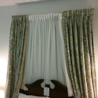 Curtain with black out.  Oakville, L6L 5N1