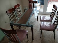 Dining Table & 6 chairs Walsall Wood, WS9 9ER