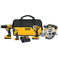 New! 4-Tool Combo Kit Dewalt 20v