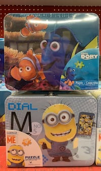 Lunch Boxes + Puzzles!
