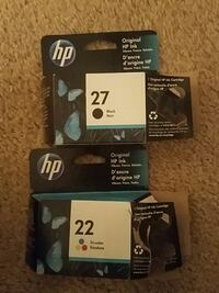 Free HP ink (black and color)