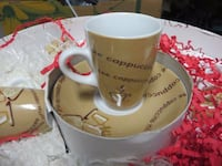 coffee cup set of 12 brand new never used still in the box $25 Coquitlam, V3J 2H6