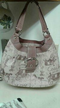 Vintage Coach w/original  horse carriage print