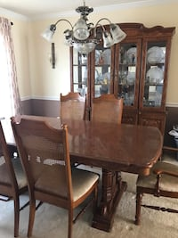 Dining room set with China cabinet Sparrows Point, 21219