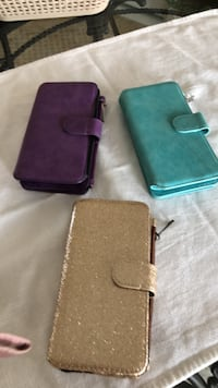 Cell phone wallet cases with slots inside for cards, fits Samsung Galaxy 7 Methuen, 01844