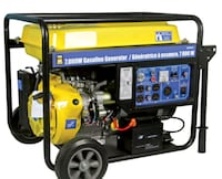 Gas generator with electric start Toronto, M9W 1V9
