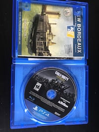 Call of duty WWll ps4 game case Edmonton, T5N 2C2