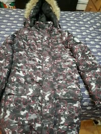brown and gray camouflage jacket Montréal, H4L 2X5
